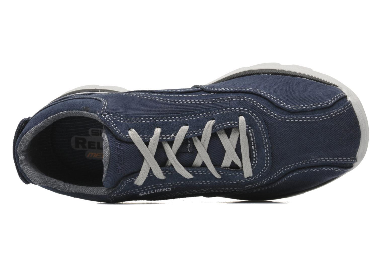 Sneaker Skechers Superior Monavo 64362 blau ansicht von links