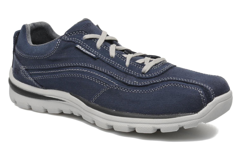 Sneaker Skechers Superior Monavo 64362 blau detaillierte ansicht/modell