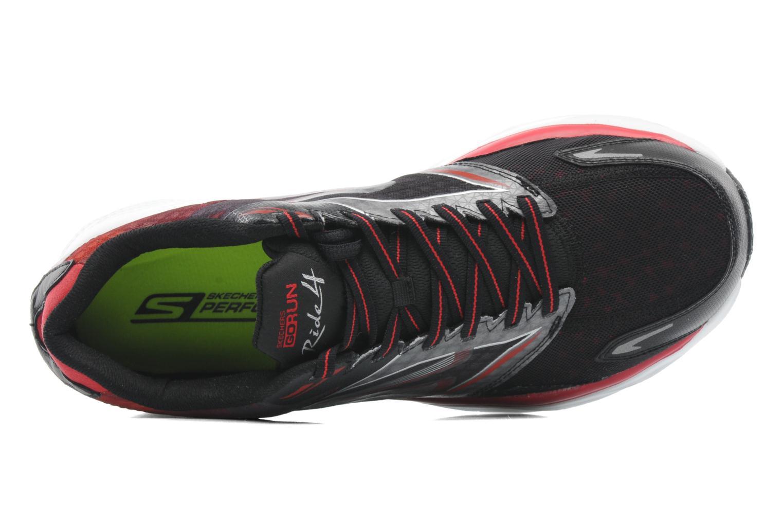 Sportschuhe Skechers Go Run Ride 4 53998 schwarz ansicht von links