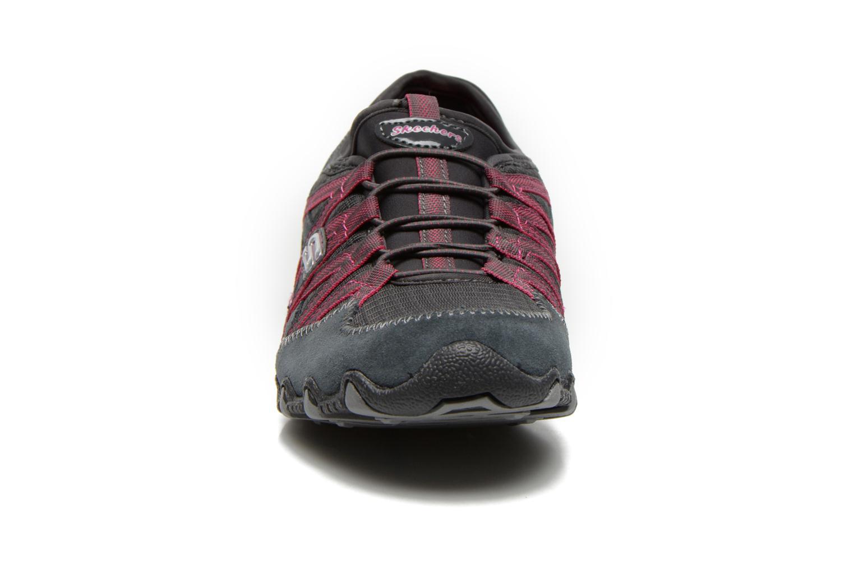 Baskets Skechers Bikers Verified 21139 Gris vue portées chaussures