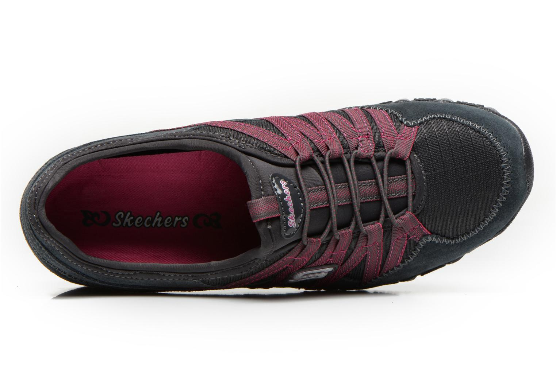 Sneaker Skechers Bikers Verified 21139 grau ansicht von links