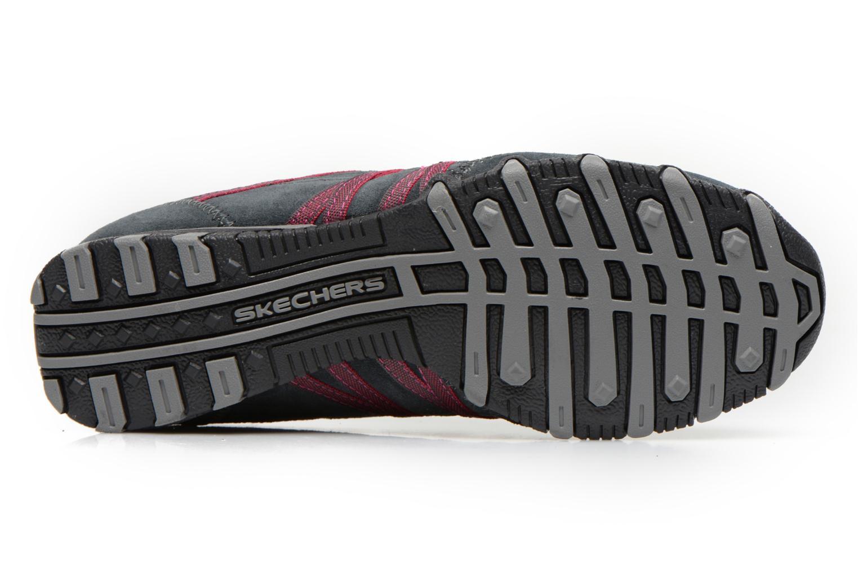 Sneaker Skechers Bikers Verified 21139 grau ansicht von oben