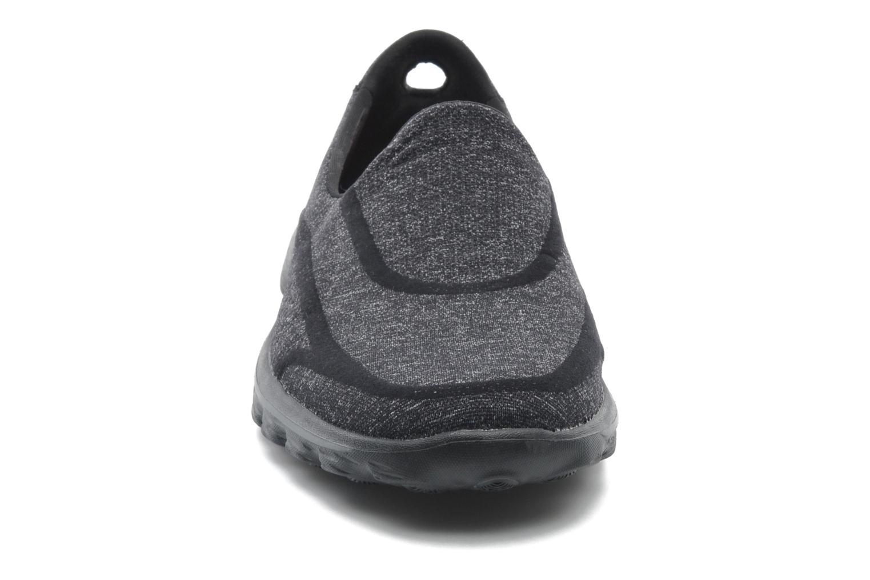 Sneaker Skechers Go Walk 2 Super Sock 13955 schwarz schuhe getragen