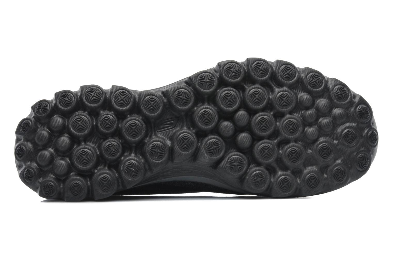 Sneaker Skechers Go Walk 2 Super Sock 13955 schwarz ansicht von oben