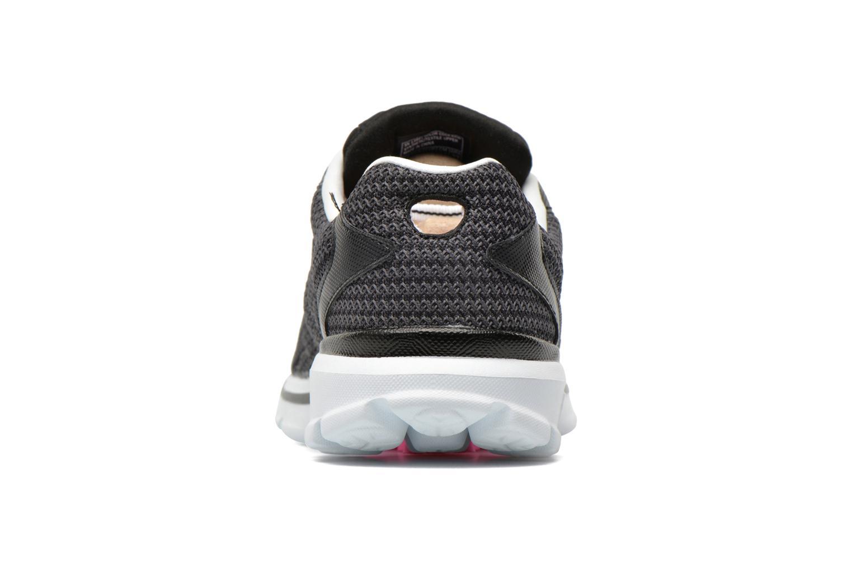 Sneaker Skechers Go Walk 3 FitKnit 13981 schwarz ansicht von rechts