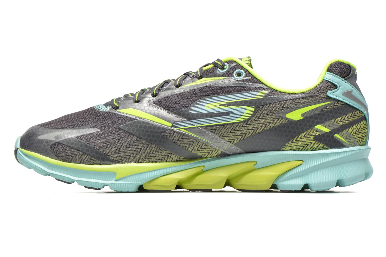Chaussures de sport Skechers Go Run 4 13995 Gris vue face
