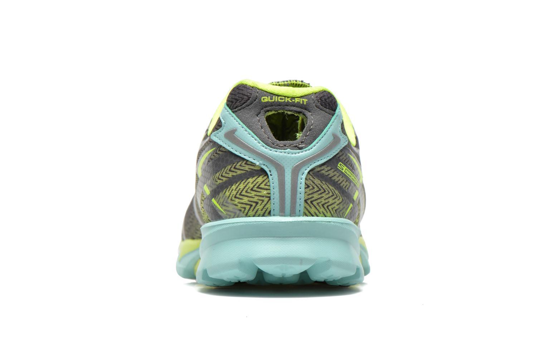 Chaussures de sport Skechers Go Run 4 13995 Gris vue droite