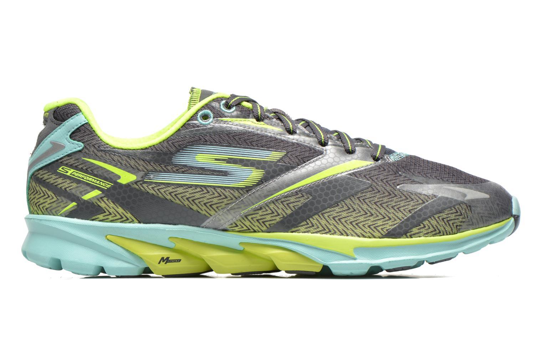 Chaussures de sport Skechers Go Run 4 13995 Gris vue derrière