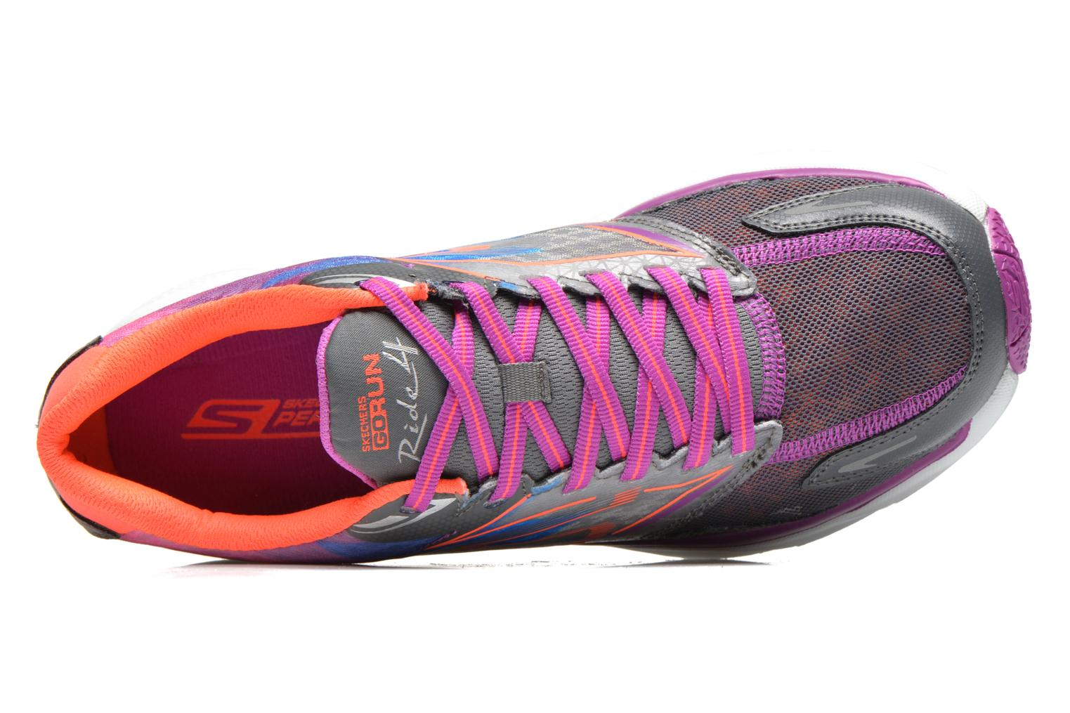 Sport shoes Skechers Go Run Ride 4 13998 Multicolor view from the left