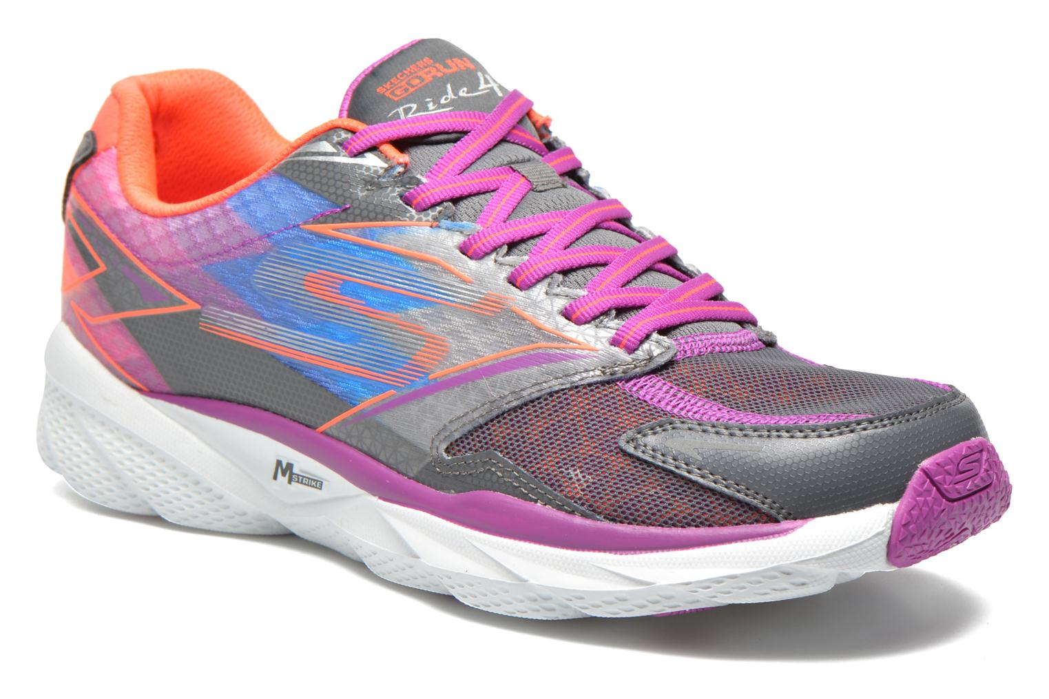 Sport shoes Skechers Go Run Ride 4 13998 Multicolor detailed view/ Pair view