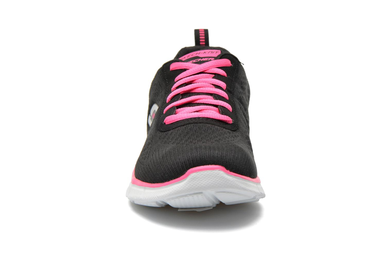 Baskets Skechers Equalizer True Form 11891 Noir vue portées chaussures