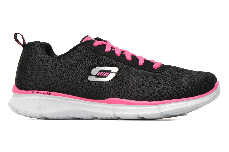 Sneaker Skechers Equalizer True Form 11891 schwarz ansicht von hinten