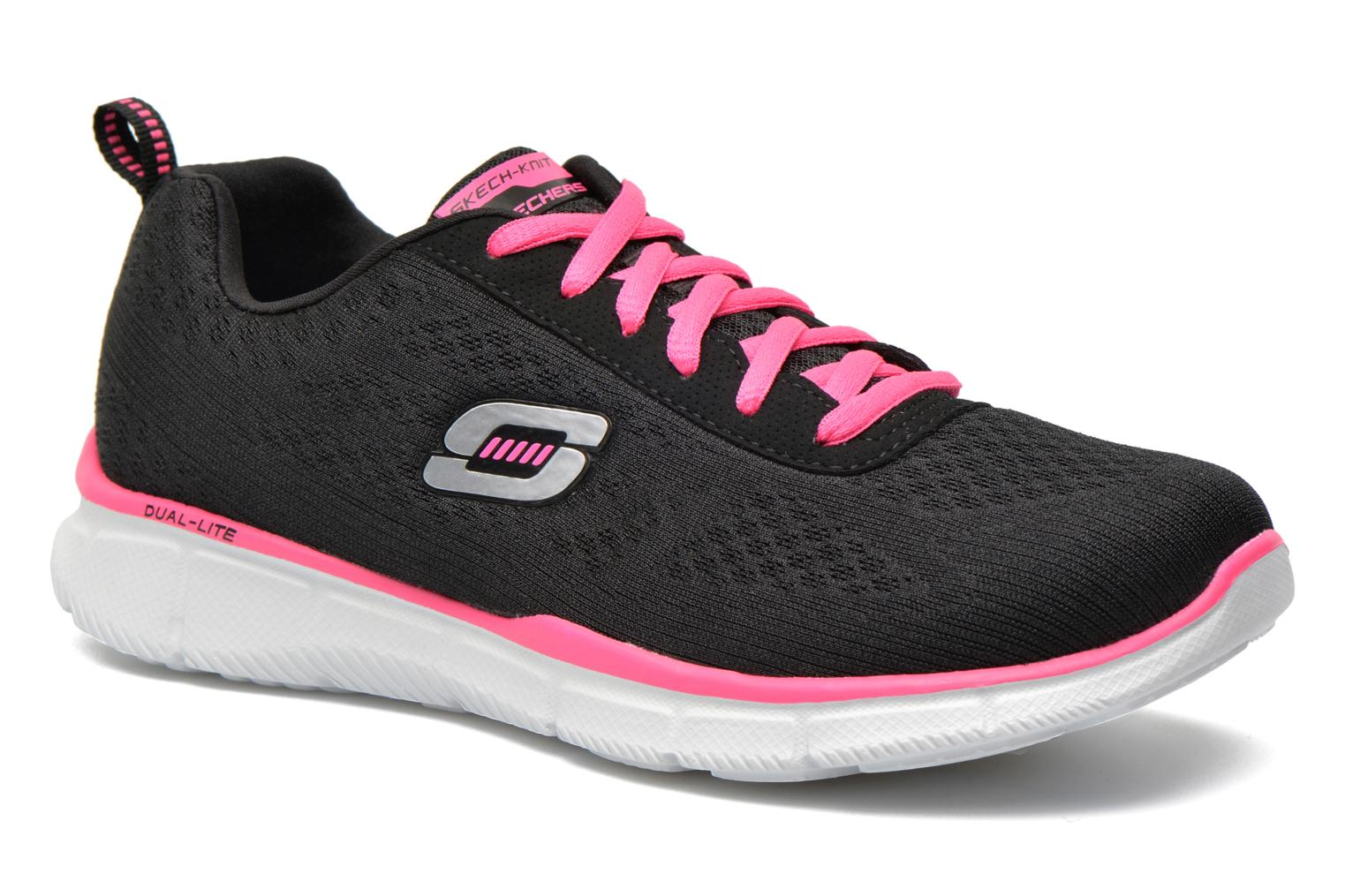 Baskets Skechers Equalizer True Form 11891 Noir vue détail/paire
