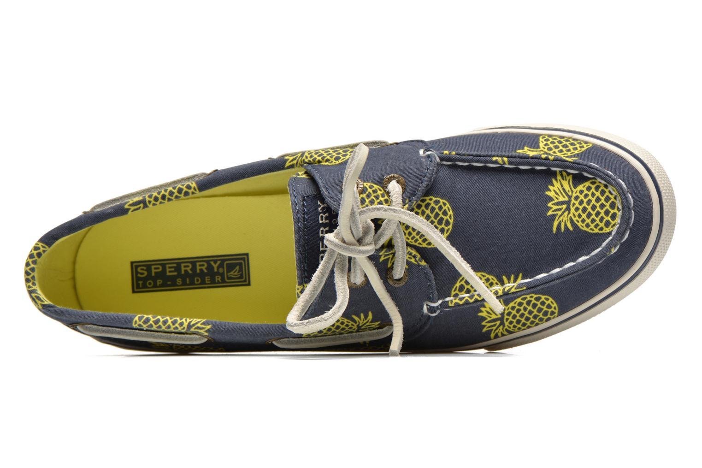 Bahama Prints Pinapple Blue / Yellow