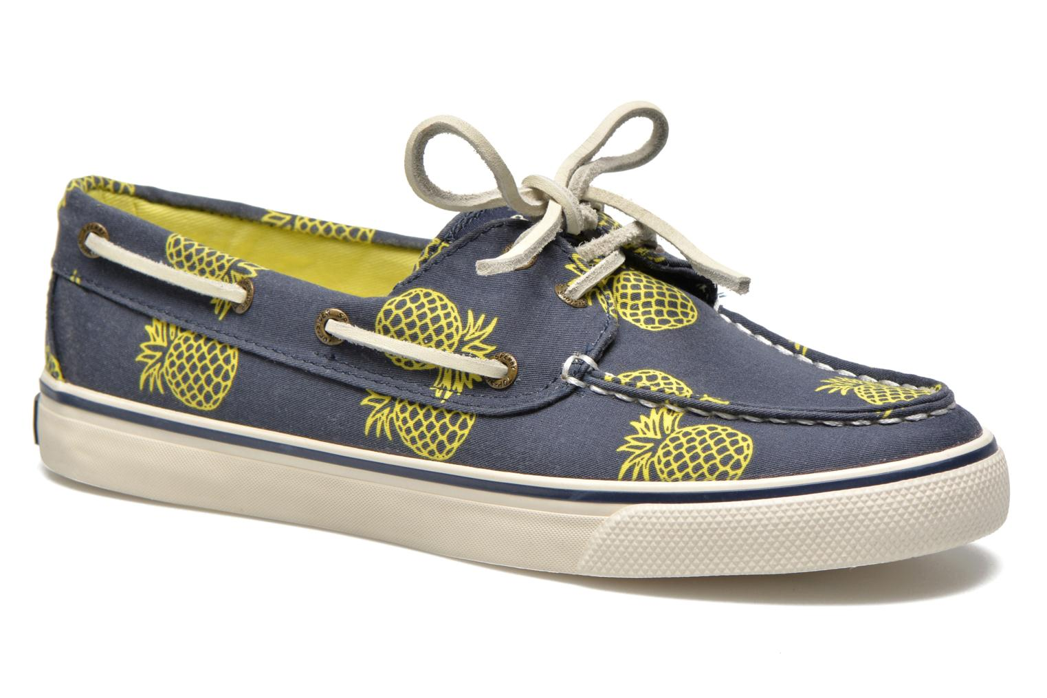 Bahama Prints Pinapple Blue / Yellow
