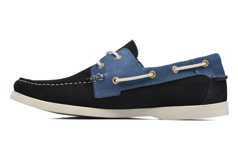 Chaussures à lacets Faguo Larch Bleu vue face