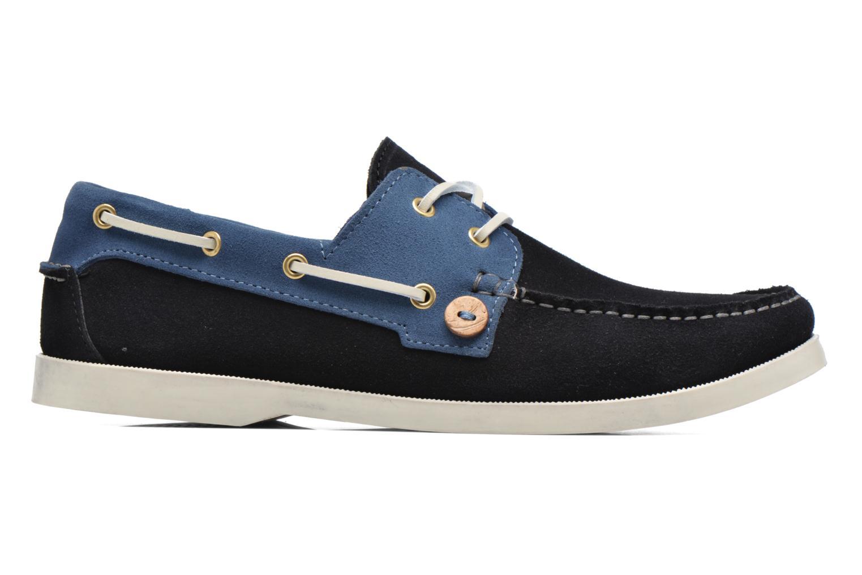 Chaussures à lacets Faguo Larch Bleu vue derrière