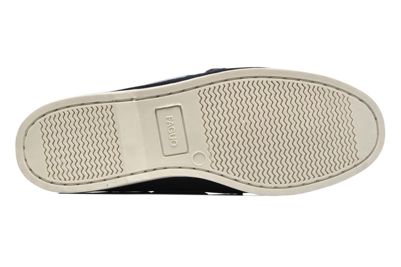 Chaussures à lacets Faguo Larch Bleu vue haut