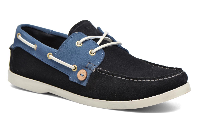 Chaussures à lacets Faguo Larch Bleu vue détail/paire