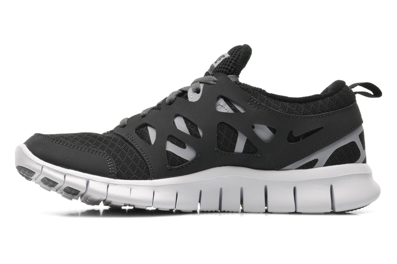 Sneaker Nike NIKE FREE RUN 2 (GS) schwarz ansicht von vorne