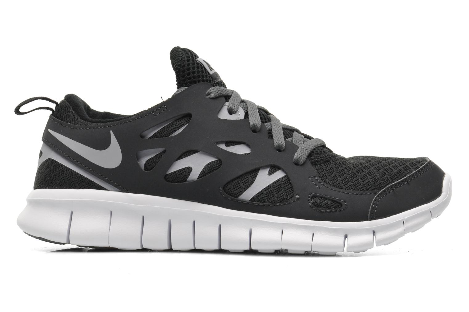 NIKE FREE RUN 2 (GS) BLACK/WOLF GREY-WHITE-DRK GREY