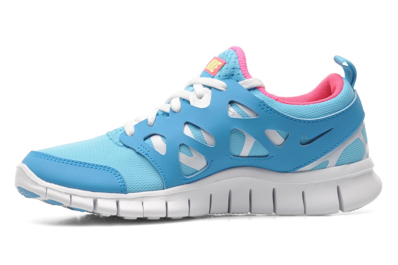 Sneaker Nike NIKE FREE RUN 2 (GS) blau ansicht von vorne