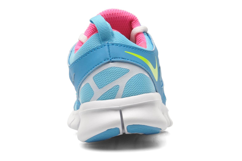 Sneaker Nike NIKE FREE RUN 2 (GS) blau ansicht von rechts