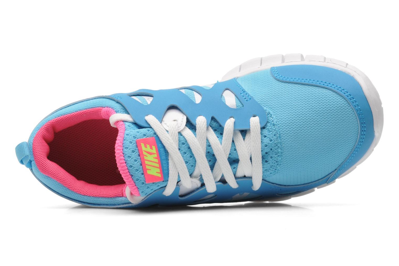 Baskets Nike NIKE FREE RUN 2 (GS) Bleu vue gauche