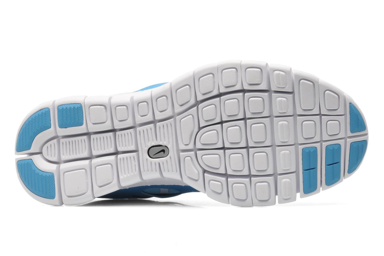 Baskets Nike NIKE FREE RUN 2 (GS) Bleu vue haut