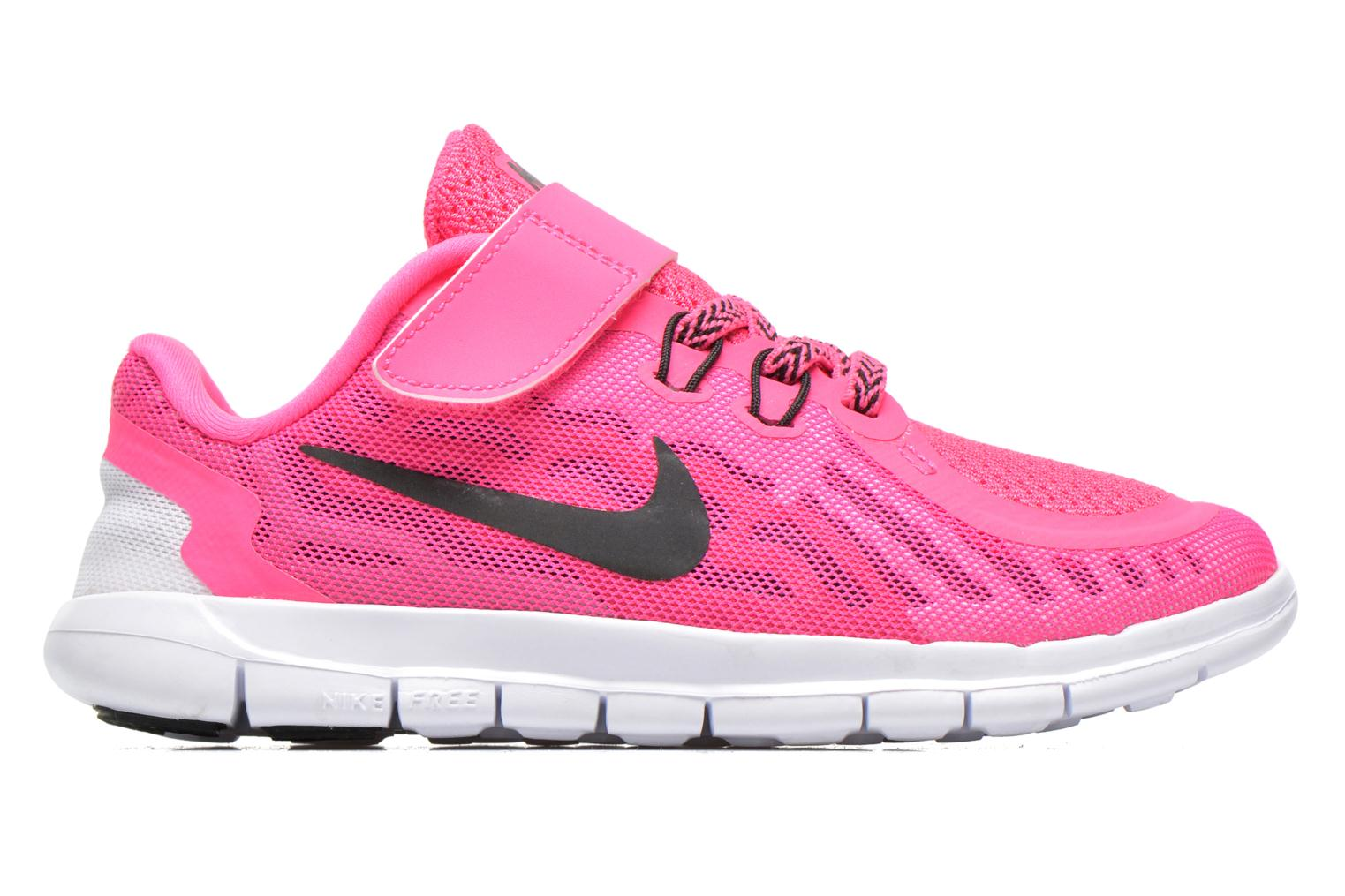 Trainers Nike NIKE FREE 5 (PSV) Pink back view