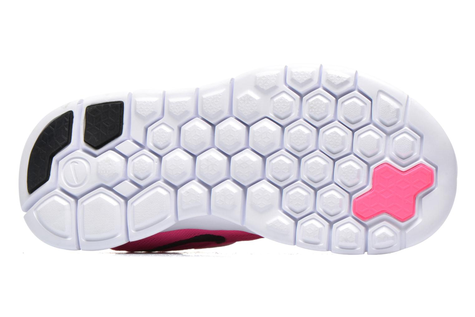 Trainers Nike NIKE FREE 5 (PSV) Pink view from above