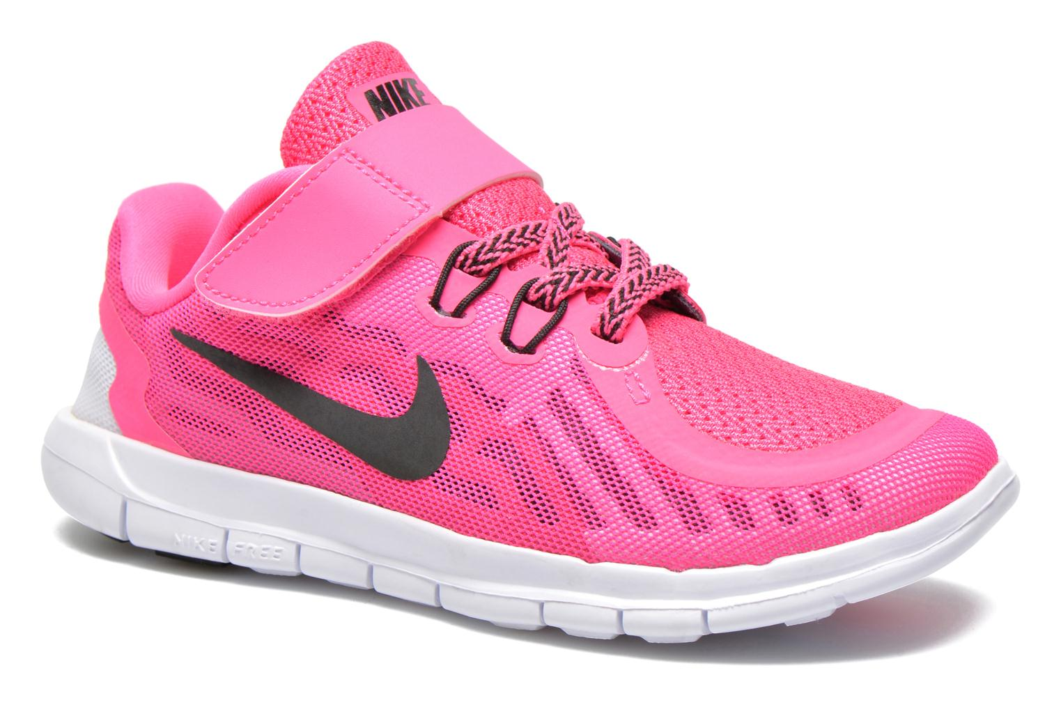 Trainers Nike NIKE FREE 5 (PSV) Pink detailed view/ Pair view