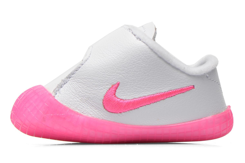 Sneakers Nike NIKE WAFFLE 1 (CBV) Wit voorkant
