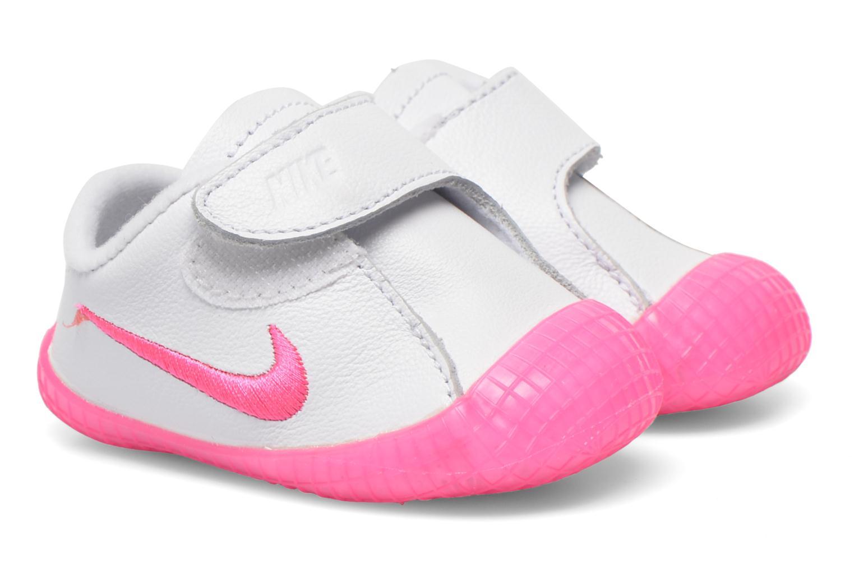 Baskets Nike NIKE WAFFLE 1 (CBV) Blanc vue détail/paire