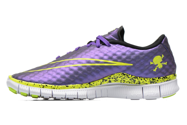 Sneaker Nike NIKE FREE HYPERVENOM (GS) lila ansicht von vorne