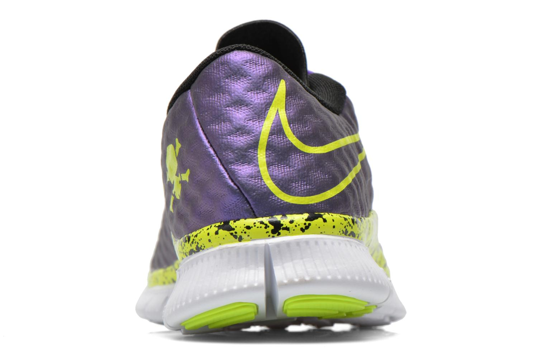 Sneaker Nike NIKE FREE HYPERVENOM (GS) lila ansicht von rechts