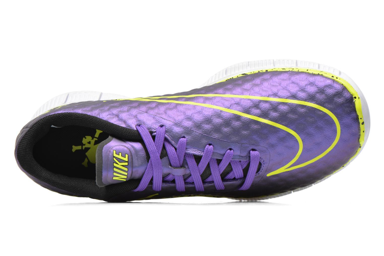 Sneaker Nike NIKE FREE HYPERVENOM (GS) lila ansicht von links