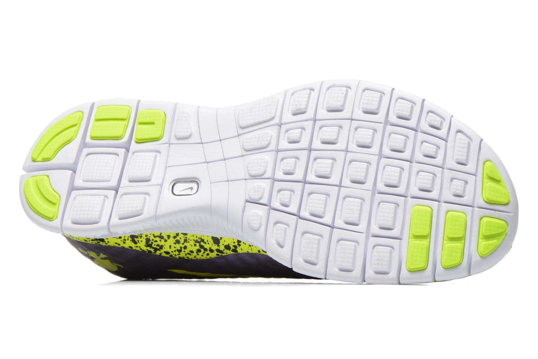 Sneaker Nike NIKE FREE HYPERVENOM (GS) lila ansicht von oben