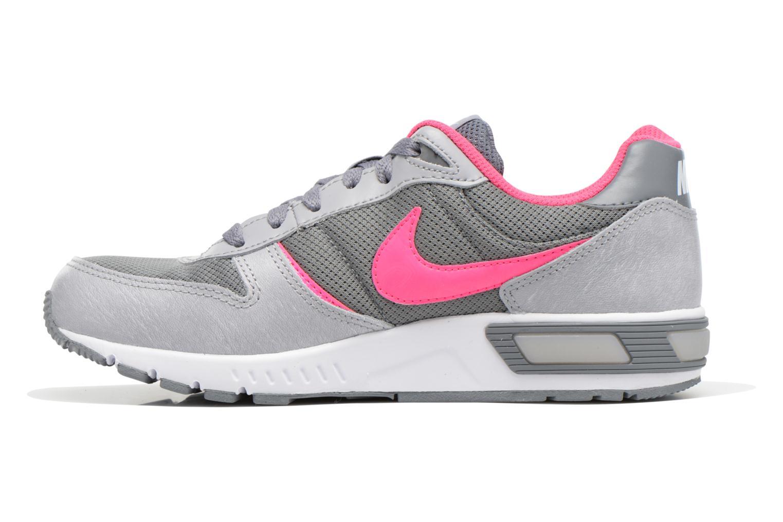 Sneakers Nike NIKE NIGHTGAZER (GS) Grijs voorkant