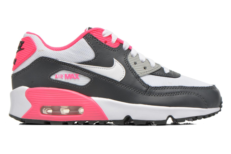 Trainers Nike NIKE AIR MAX 90 MESH (GS) White back view