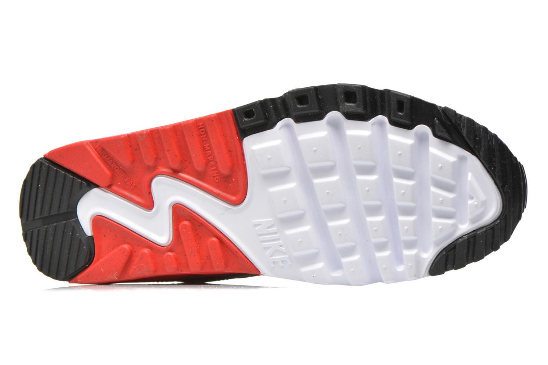 Baskets Nike NIKE AIR MAX 90 MESH (GS) Blanc vue haut