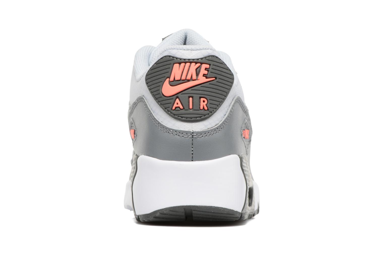 Sneaker Nike NIKE AIR MAX 90 MESH (GS) grau ansicht von rechts