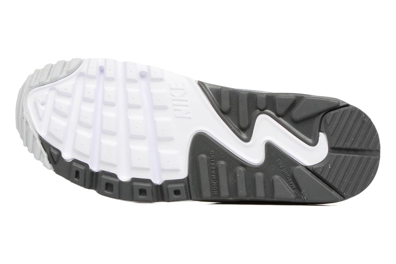 Baskets Nike NIKE AIR MAX 90 MESH (GS) Gris vue haut