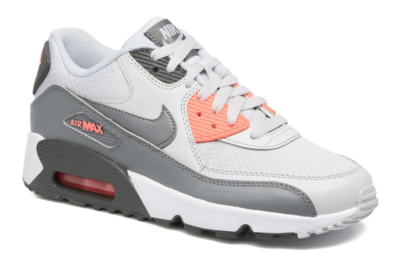 Sneaker Nike NIKE AIR MAX 90 MESH (GS) grau detaillierte ansicht/modell