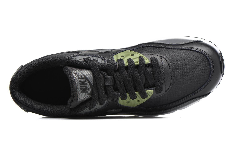 NIKE AIR MAX 90 MESH (GS) Black/Dark Grey-Palm Green-White