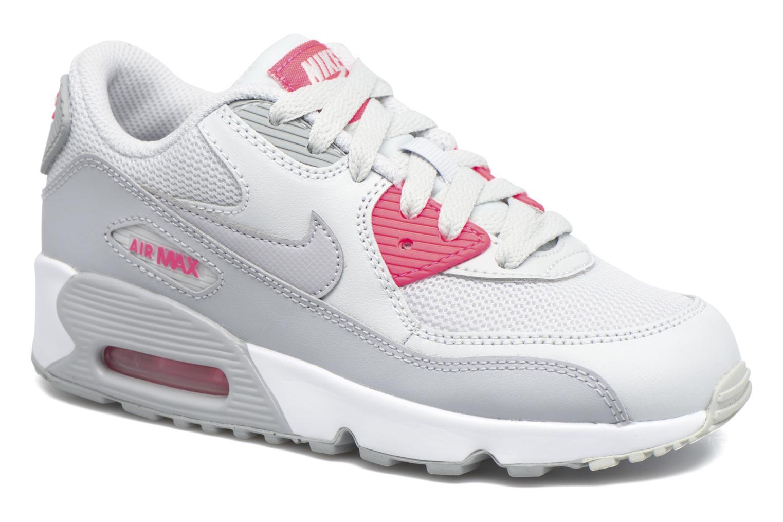 Deportivas Nike NIKE AIR MAX 90 MESH (PS) Gris vista de detalle / par
