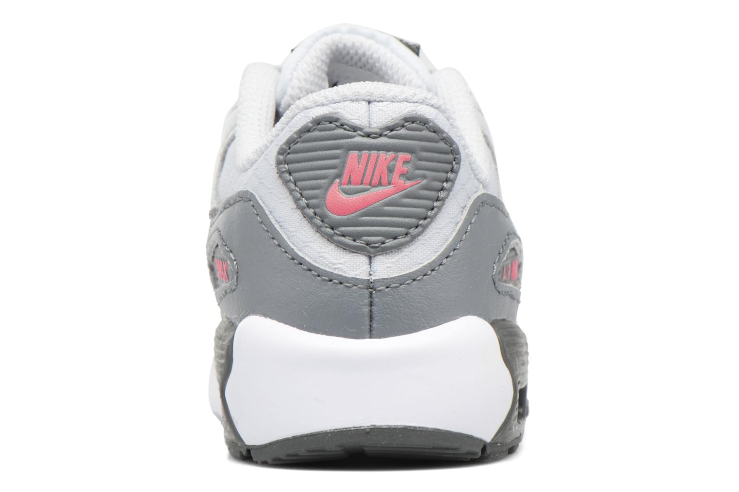 NIKE AIR MAX 90 MESH (TD) Pure Platinum/Cool Grey-Lava Glow-White