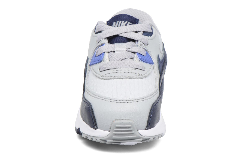 Baskets Nike NIKE AIR MAX 90 MESH (TD) Gris vue portées chaussures