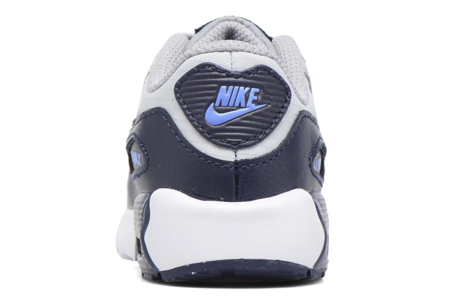Trainers Nike NIKE AIR MAX 90 MESH (TD) Grey view from the right