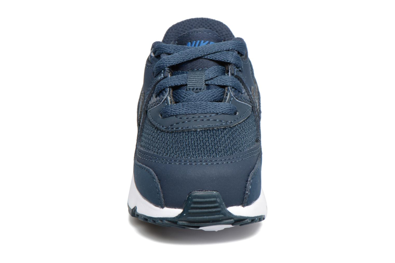 Sneaker Nike NIKE AIR MAX 90 MESH (TD) blau schuhe getragen